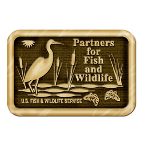 Partners for Fish & Wildlife Service Buckle