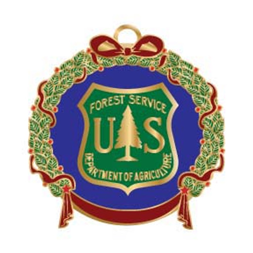 Forest Service Holiday Ornament 2008--SALE!
