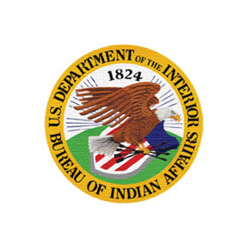 Bureau of Indian Affairs DOI Patch (3 inch)