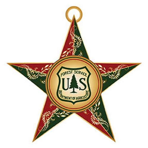 Forest Service Holiday Ornament 2017