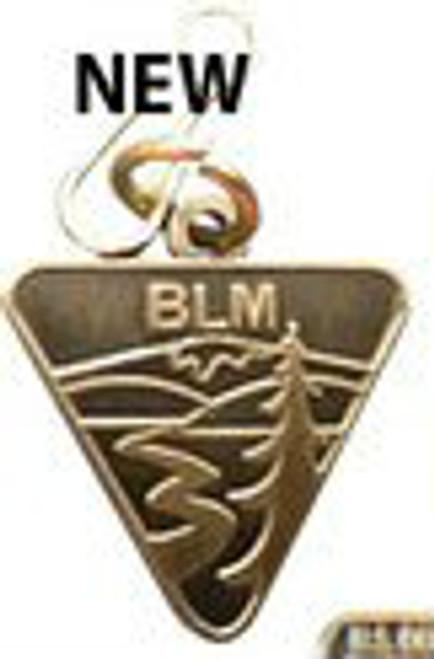 Bureau of Land Management Zipper Pull - Simple Logo