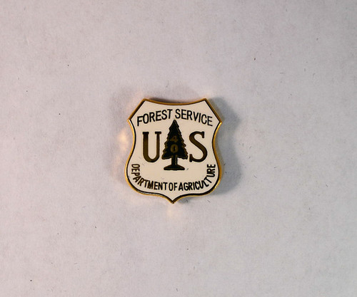 US Forest Service Years of Service Pin (40 years)