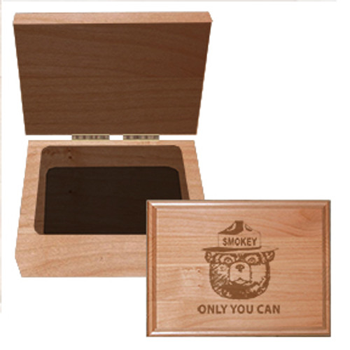 Hinged Box - Alder