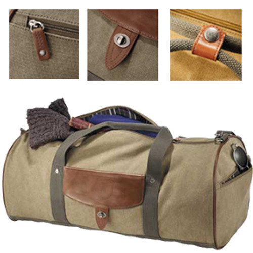 "Cutter & Buck Legacy 22"" Cotton Roll Duffel Bag"