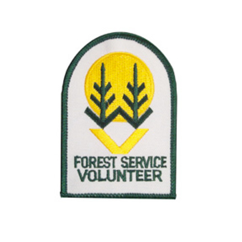 US Forest Service Volunteer Patch - Small
