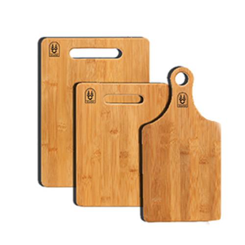 Bamboo Cutting Board - Paddle Style