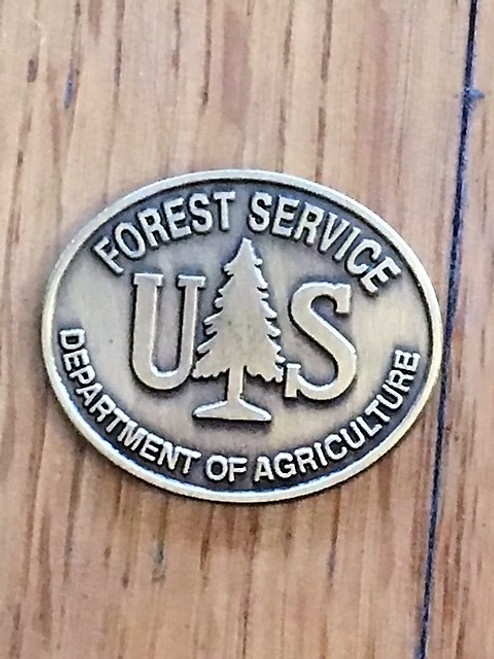 Forest Service (Oval Buckle) Spur Set