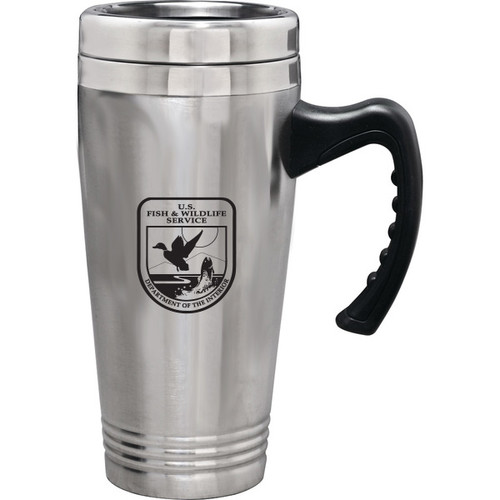 Stainless Steel Travel Mug - Fish & Wildlife Service