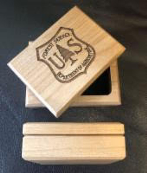 Forest Service Notched Box - Alder