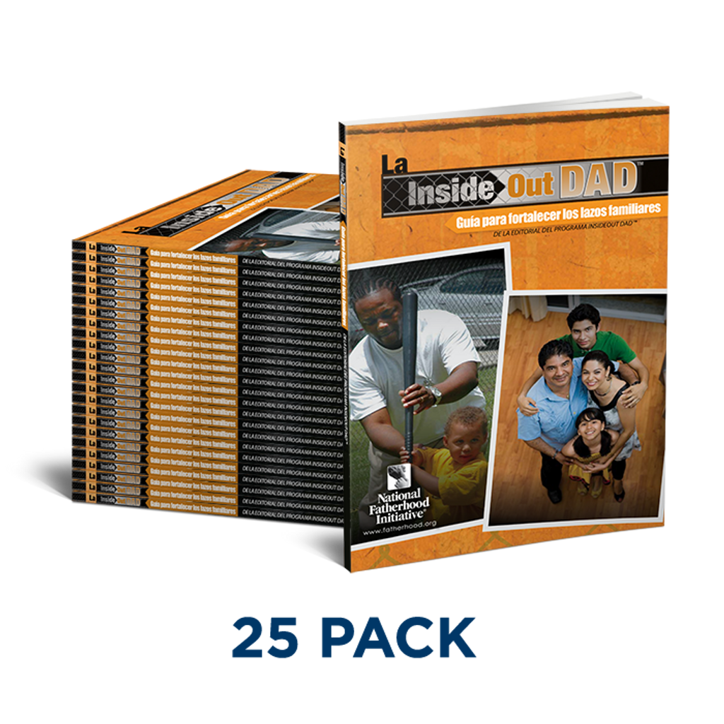 InsideOut Dad® Guide to Family Ties - Spanish (Pack of 25)