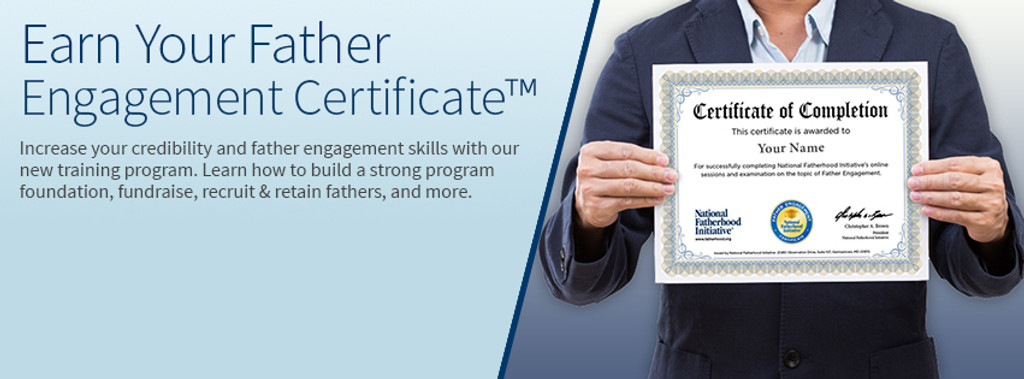 Father engagement certificate training father engagement certificate online training fandeluxe Gallery