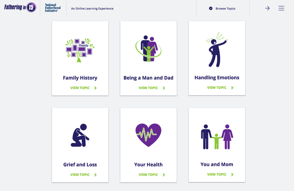 Fathering in 15™: Online Learning for Dads