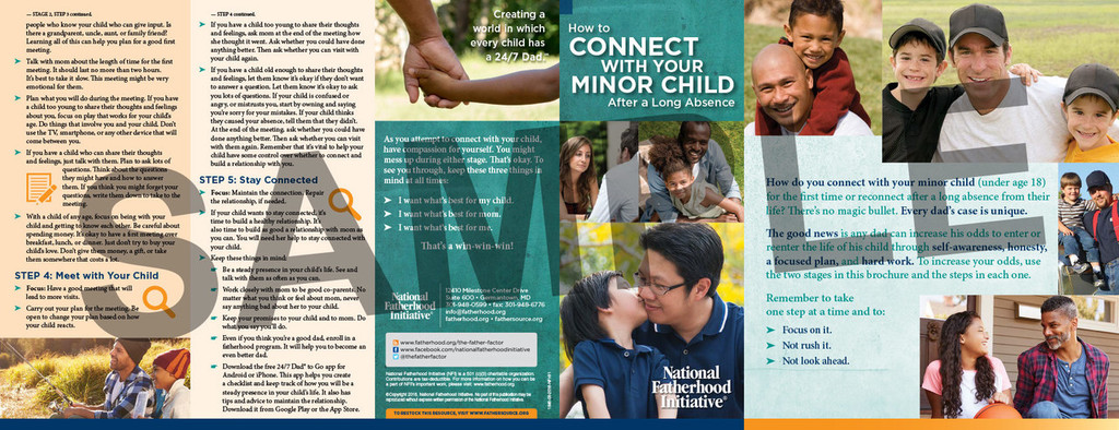 Brochure: How toConnectwith YourMinor ChildAfter a Long Absence