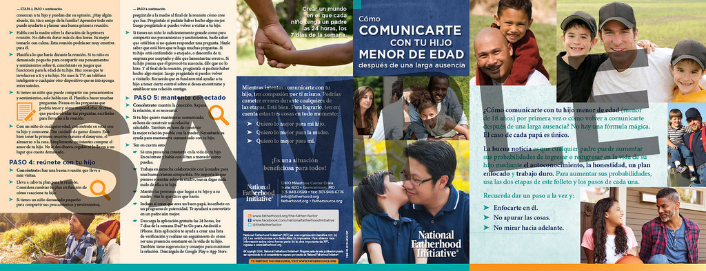Brochure: How toConnectwith YourMinor ChildAfter a Long Absence (SP)