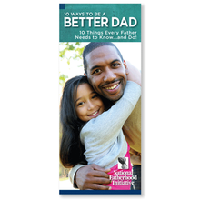 Brochure: 10 Ways to be a Better Dad
