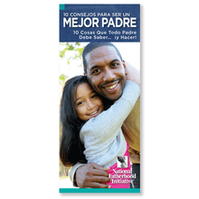 Brochure: 10 Ways to be a Better Dad (SP)