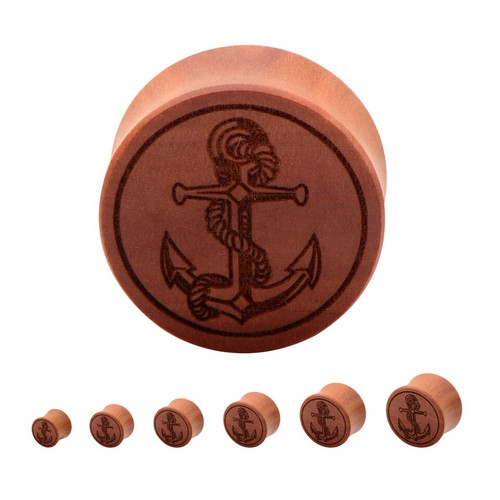Anchor Wood Plugs (1/2 inch - 1 inch)