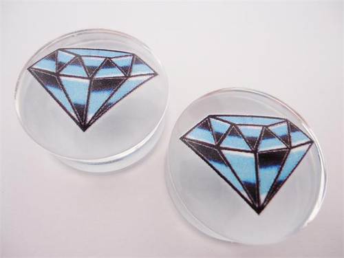 Blue Diamond Plugs (2 gauge - 1 inch)