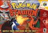 Pokemon Stadium Nintendo 64 N64 video game box art image pic
