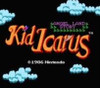 Kid Icarus NES game play title screen pic