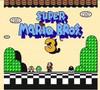 Super Mario Bros. 3 NES Game in game title screen.