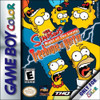 Simpsons Night of the Living Treehouse of Horror - Game Boy Color Game