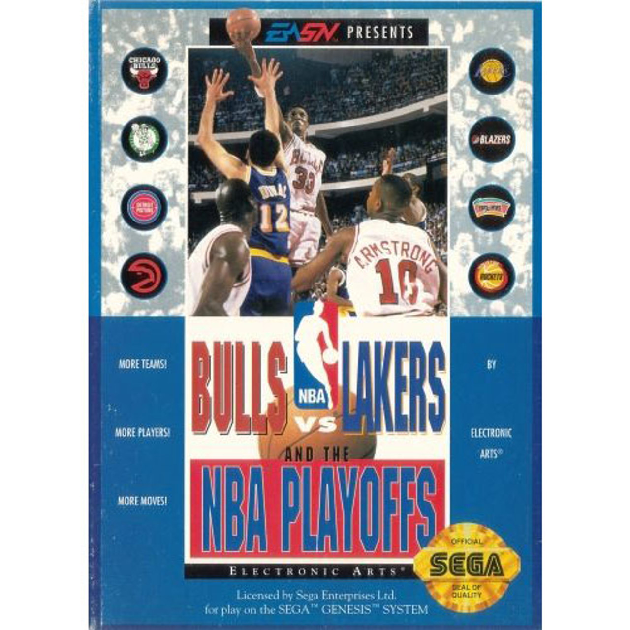 Warriors Bulls Live Stream Free: Bulls Vs Lakers NBA Playoffs Sega Genesis Game For Sale