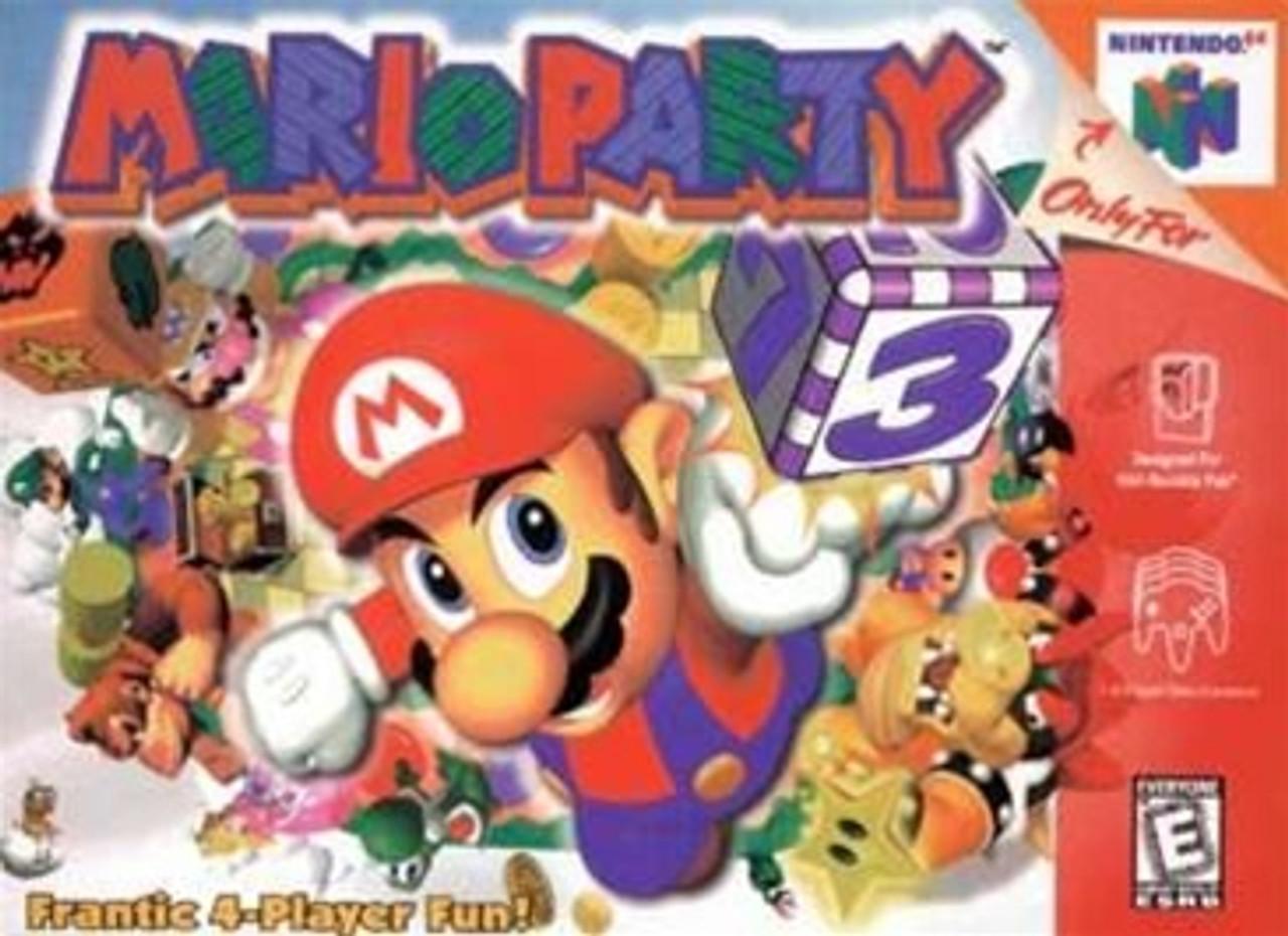 Mario Party 3 for Nintendo 64 (2000) - MobyGames