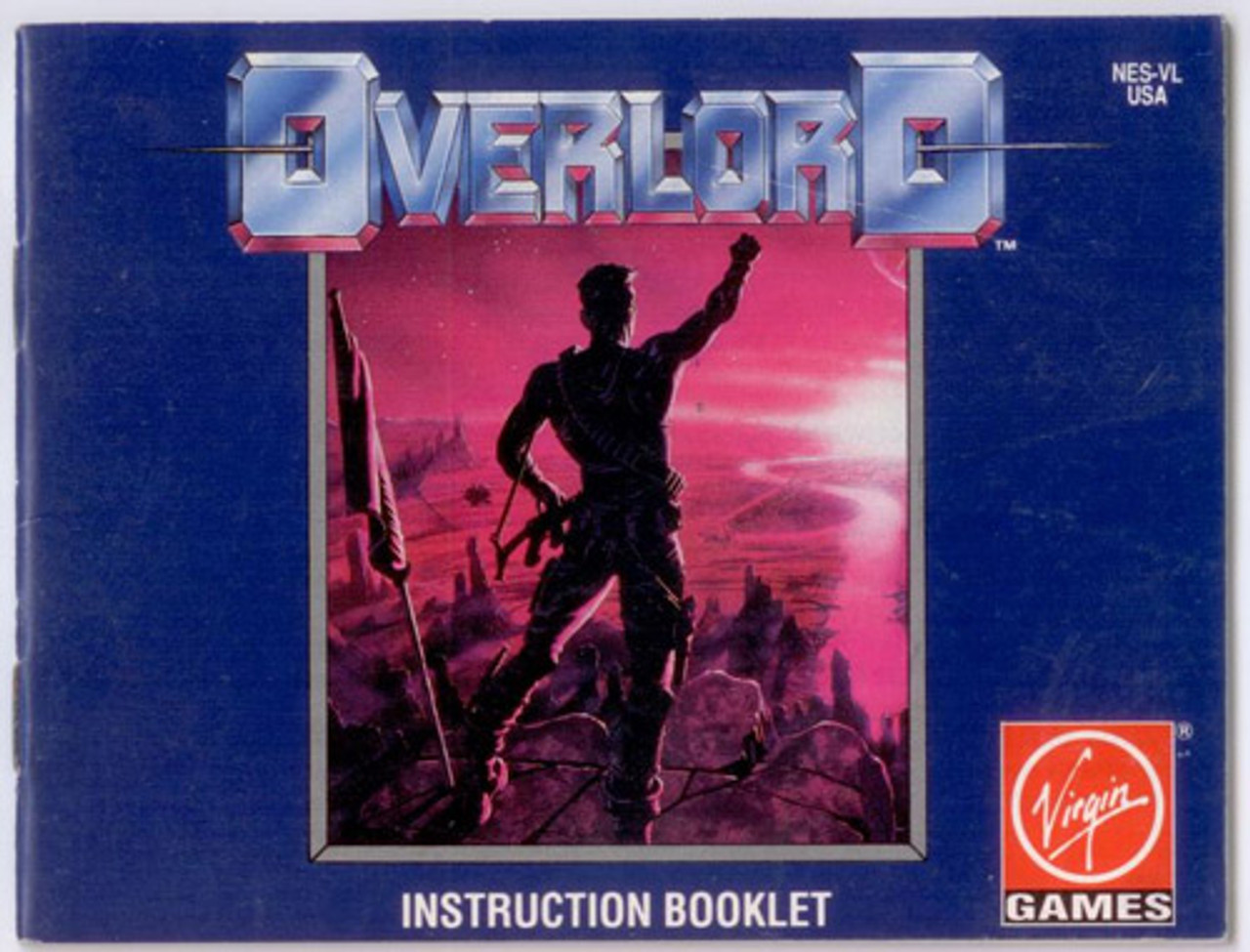 manual overlord nintendo nes instructions for sale dkoldies rh dkoldies com nes game manuals for sale Nintendo NES Manuals