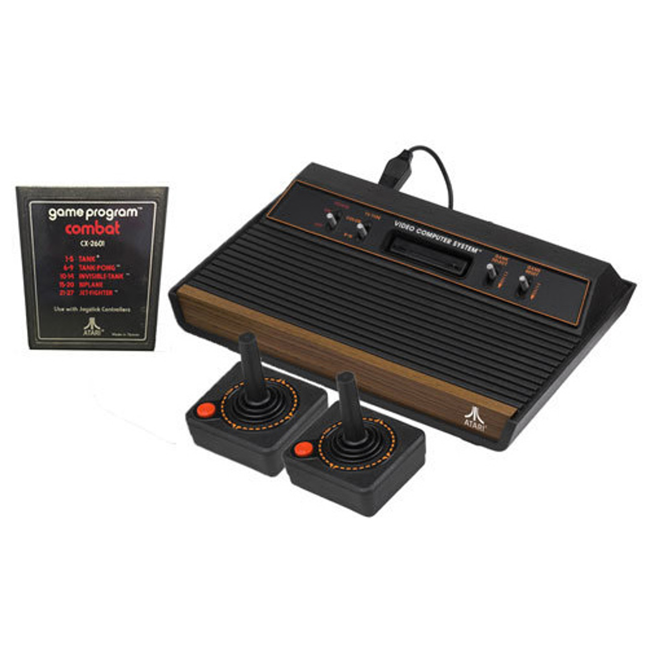 Atari 2600 2 player combat game system pak for sale dkoldies - Atari game console for sale ...