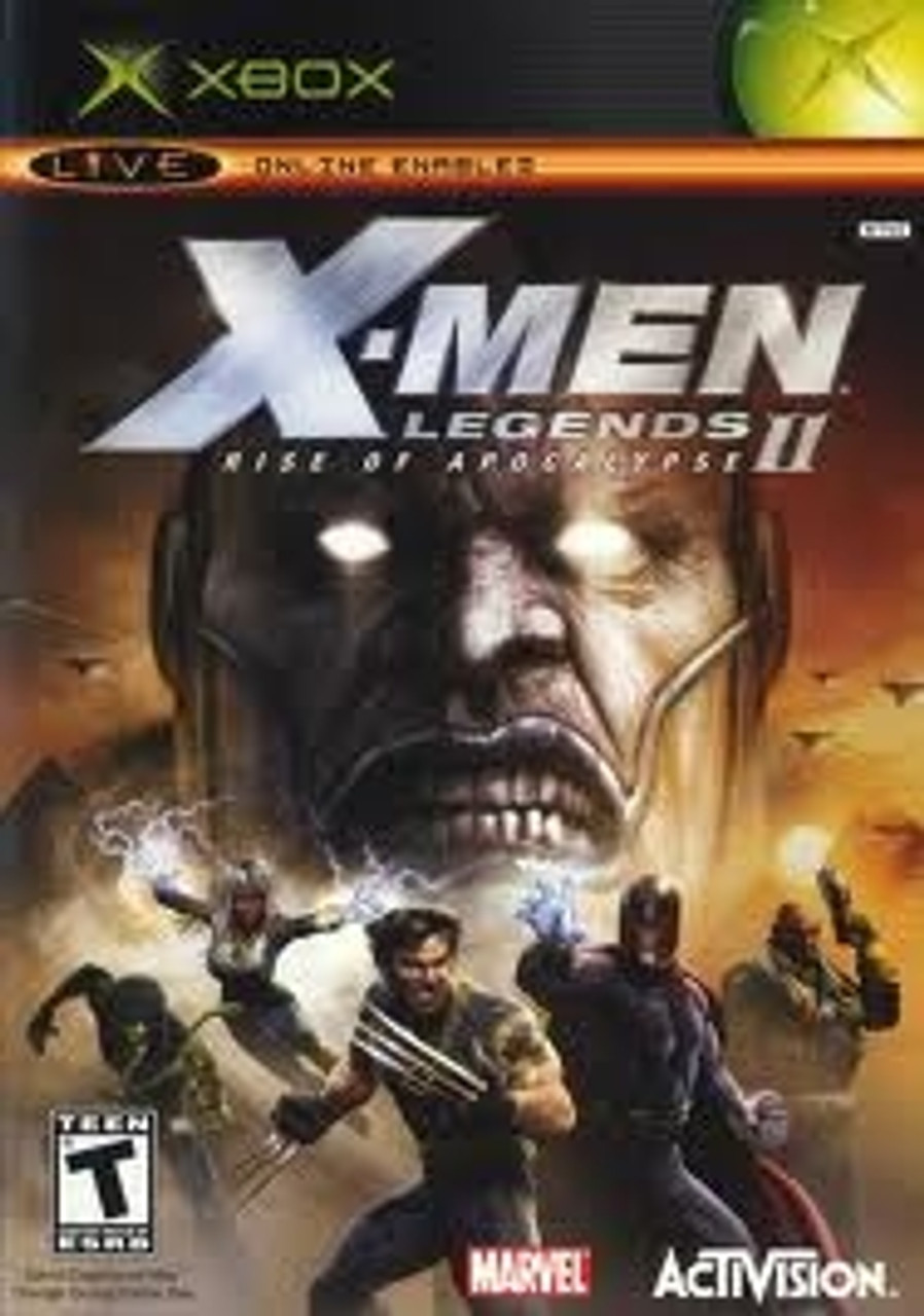 X-Men Legends II Rise of the Apocalypse Xbox Game For Sale
