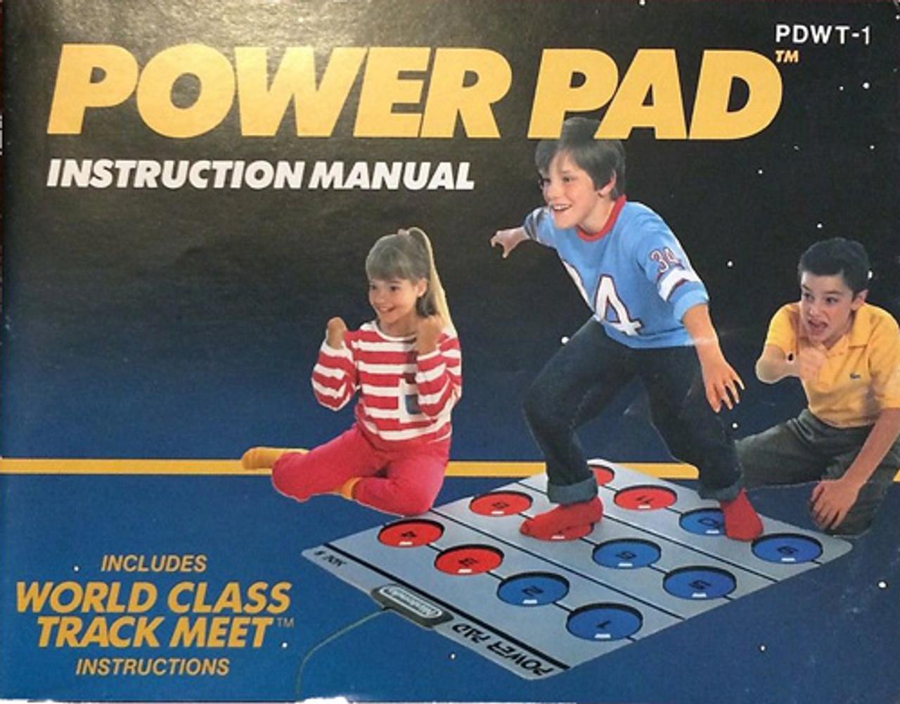nintendo power pad instructions