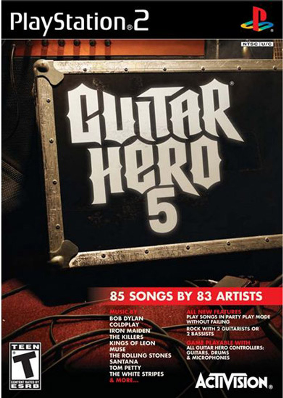 All Guitar Hero Games Order of Release As of April 2nd ...