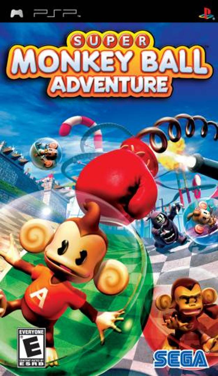 Super Monkey Ball Adventure PSP Game For Sale   DKOldies