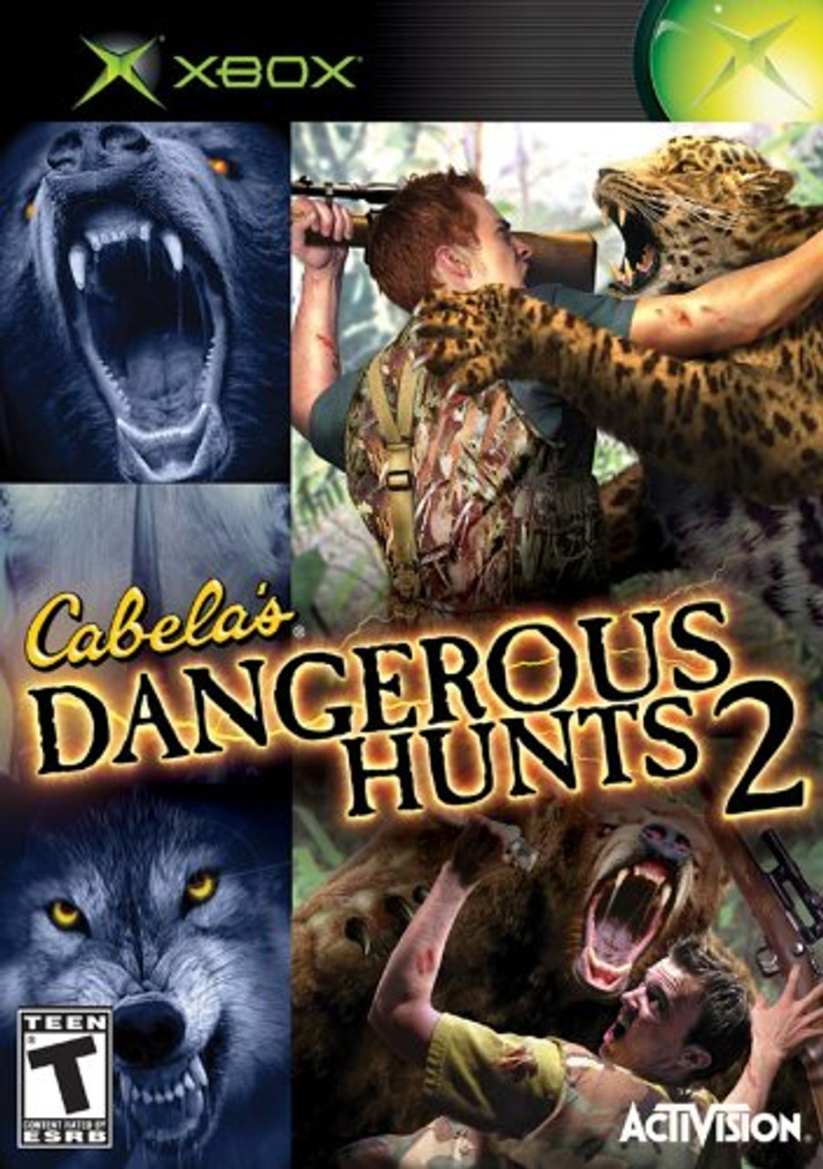 cabela s dangerous hunts 2 xbox game for sale dkoldies Sony PSP ManualDownload PSP Controller