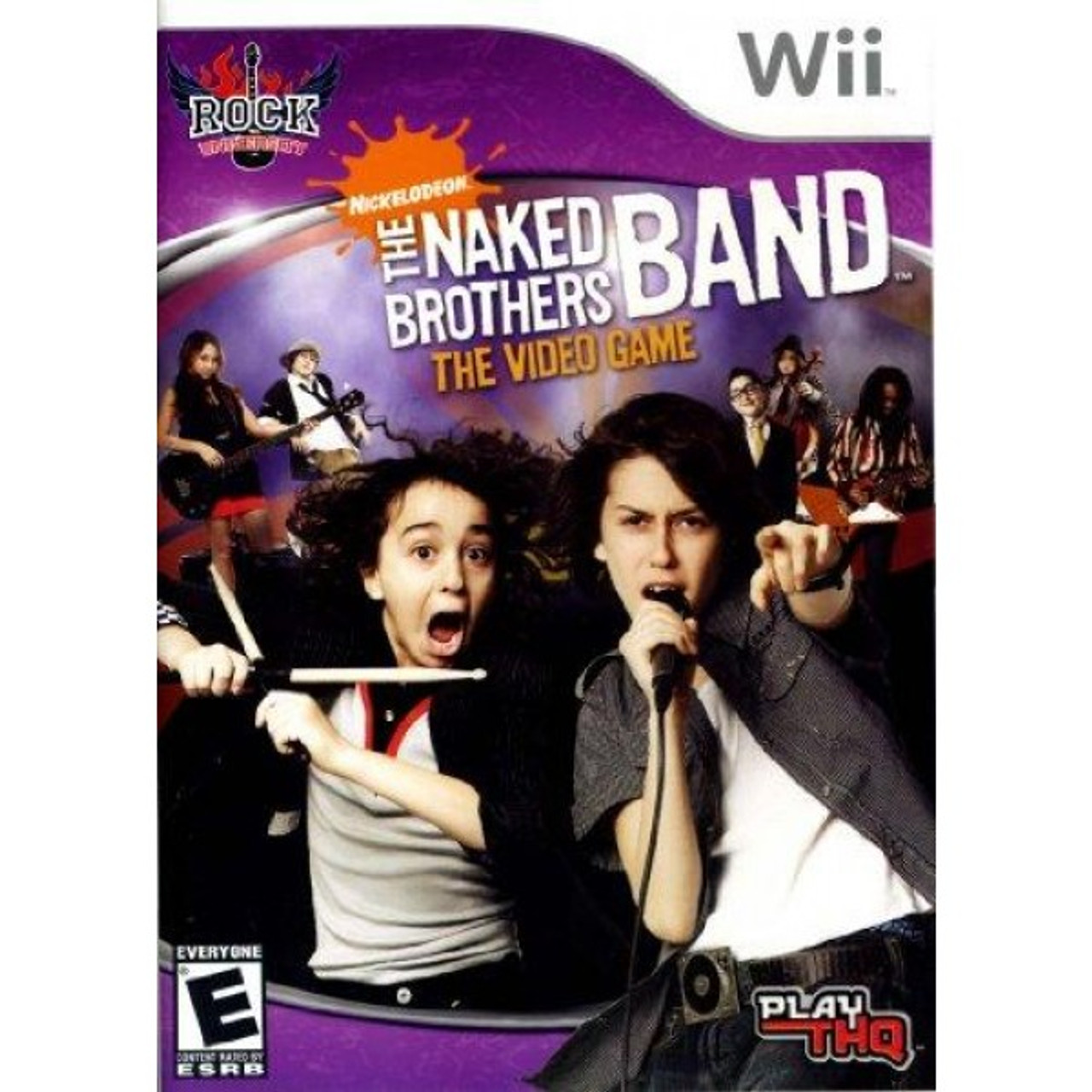 NEW SEALED NickelodeonTHE NAKEDBROTHERS BAND The Video