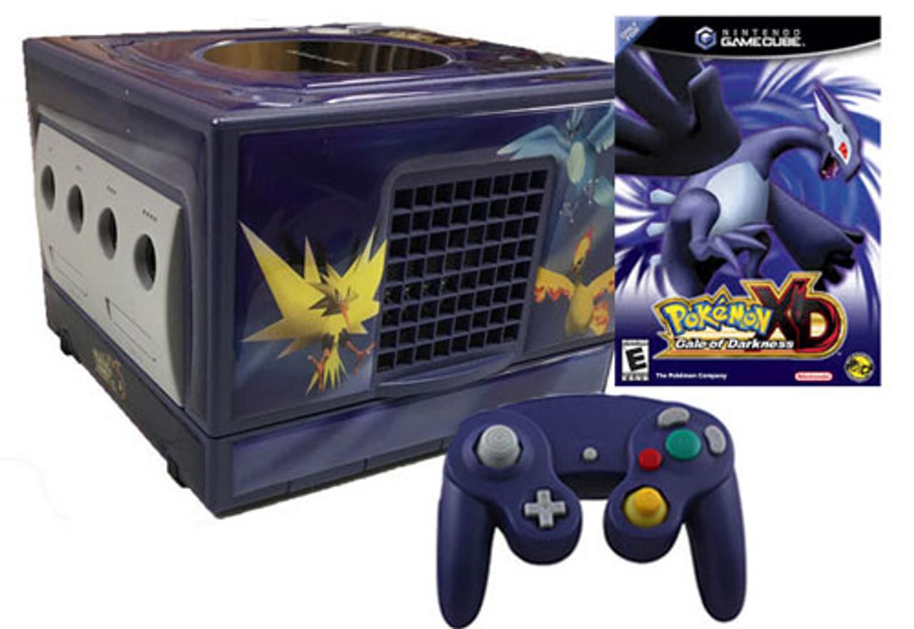 Gamecube indigo pokemon xd skin system console original nintendo sale - Gamecube pokemon xd console ...