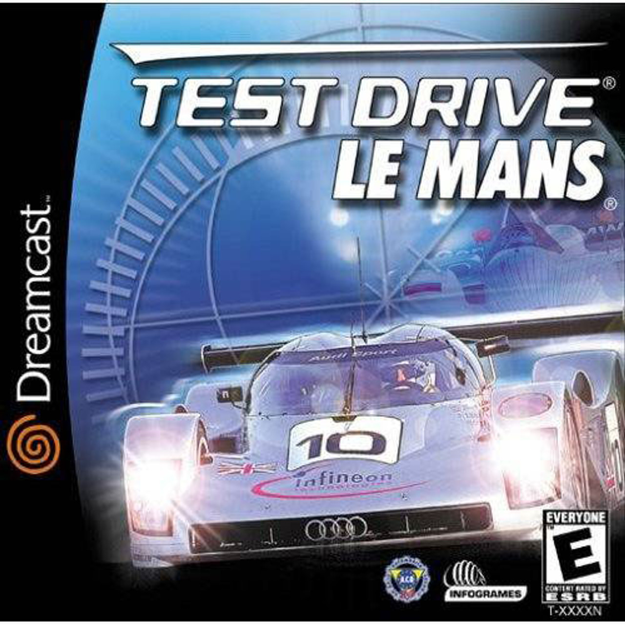 test drive le mans dreamcast game for sale dkoldies. Black Bedroom Furniture Sets. Home Design Ideas