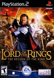 Lord of The Rings: Return of The King - PS2 Game