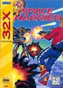 Space Harrier - Genesis 32X Game
