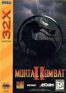 Mortal Kombat II - Genesis 32X Game