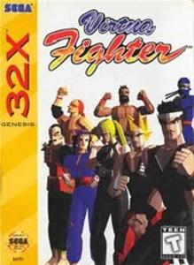 Virtua Fighter - Genesis 32X Game