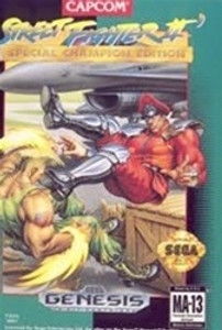 Street Fighter II Sp Champion Edition - Genesis Game