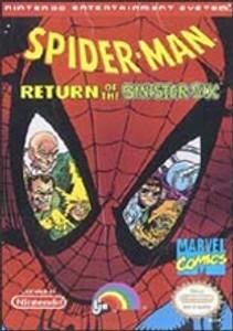 Spider-Man:Return Sinister Six - NES Game