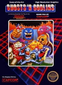 Ghosts 'N Goblins - NES Game
