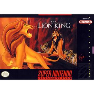 Lion King, Disney's The - SNES Game