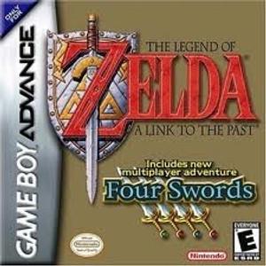 Legend of Zelda Four Swords - Game Boy Advance