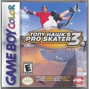 Tony Hawk's Pro Skater 3 - Game Boy Color