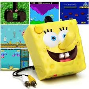SpongeBob Plug and Play TV Game