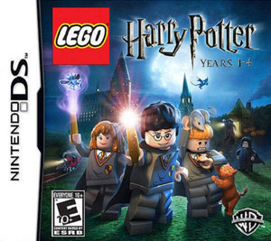 Lego Harry Potter Years 1-4 Nintendo DS Game